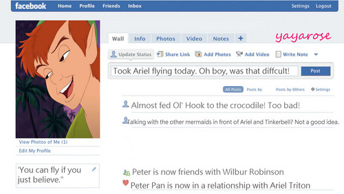 Peter's Facebook Profil