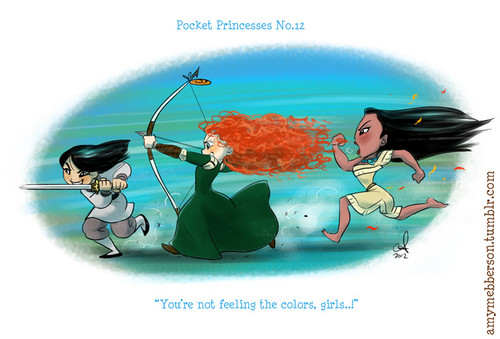 Pocket Princesses No. 12 CHARGE!!!!!