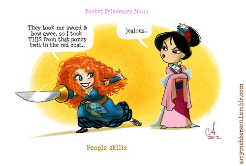Pocket Princesses No. 17 People Skills