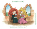 Pocket Princesses No. 22 Merida's First trà Party