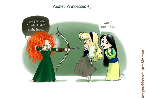 Pocket Princesses No. 5 The New Girl