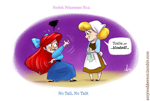 Pocket Princesses No. 6 No Tail No Talk