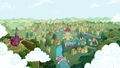 Ponyville - my-little-pony-friendship-is-magic wallpaper
