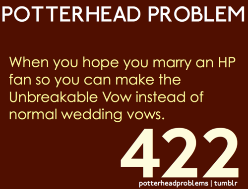 Potterhead problems 421-440