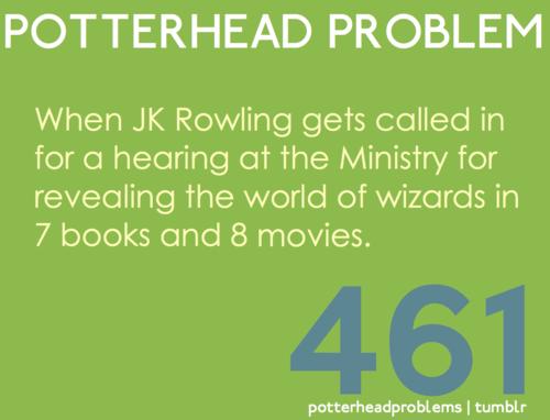 Potterhead problems 461-480