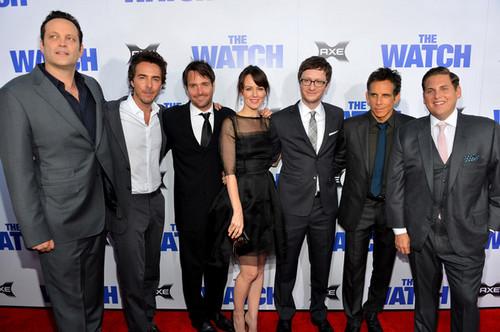 """Premiere Of Twentieth Century Fox's """"The Watch"""" - Red Carpet"""