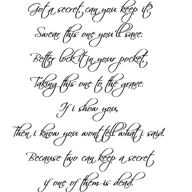 Pretty Little Liars Intro lyrics