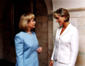 Princess Diana and Hilary Clinton