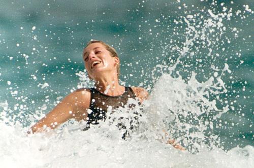 Princess Diana loved to swim