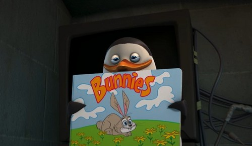 Private and his Bunny Book!
