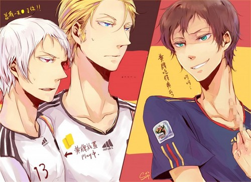 Prussia, Germany, and Spain :3