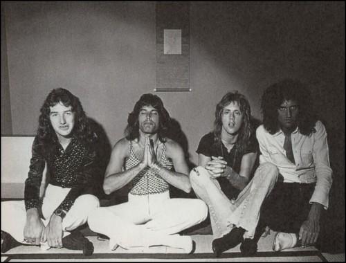 퀸 1975 일본