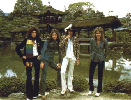 Queen 1975 in Jepun