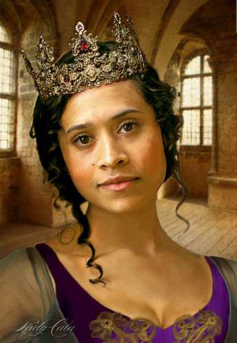 Queen Guinevere Portrait