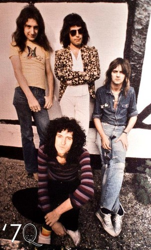 Queen at Ridge Farm in 1975