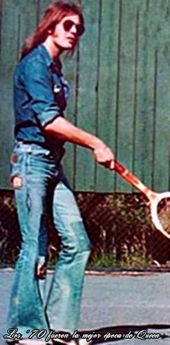 কুইন at Ridge Farm in 1975