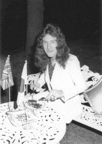 queen in japón in 1975