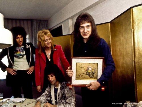 Queen in Japon 1975