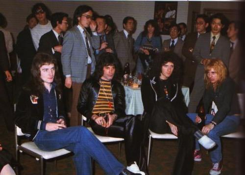 Queen in Giappone 1975