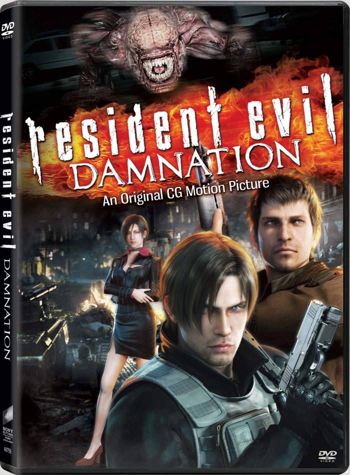 RE : Damnation DVD Cover