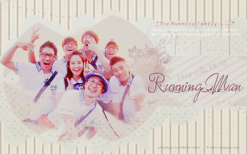 Running Man (런닝맨) wallpaper possibly with a newspaper entitled RM family