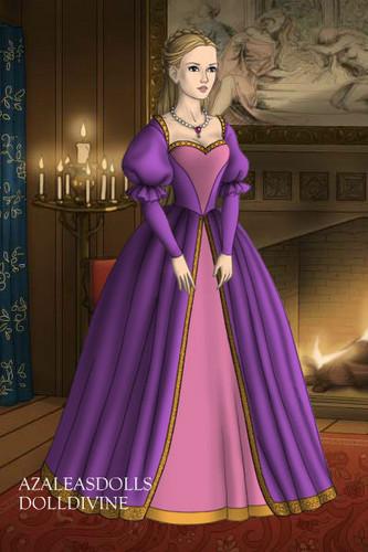 Barbie-Filme Hintergrund titled Rapunzel