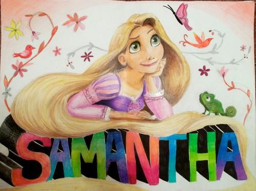 Rapunzel for Samantha