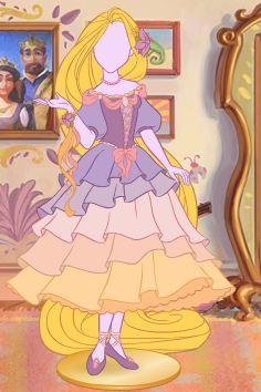 Rapunzel's dresses