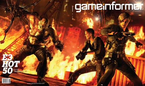 Resident Evil Gameinformer August Cover (Varied)