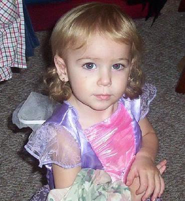 Riley Ann Sawyers (March 11, 2005 - July 24, 2007