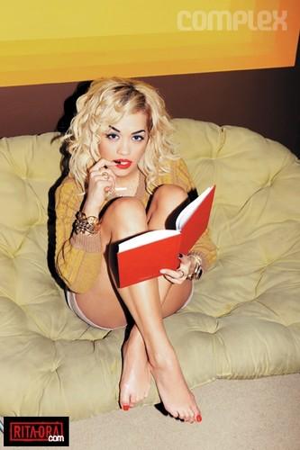 Rita Ora - Photoshoots 2012 - Zoe McConnell