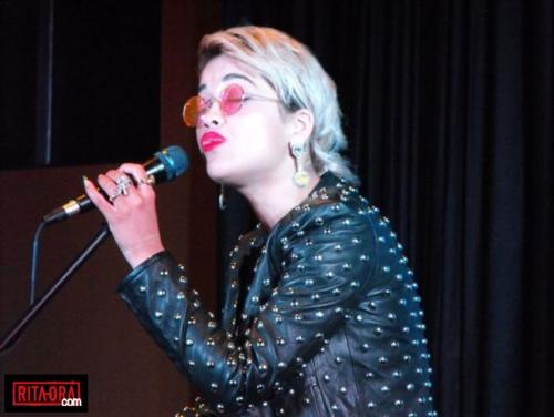 Rita Ora - WiLD 95.5 - July 22, 2012