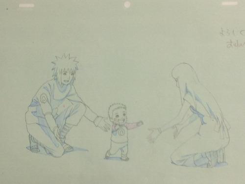 Road to Ninja sketches Von Masashi Kishimoto