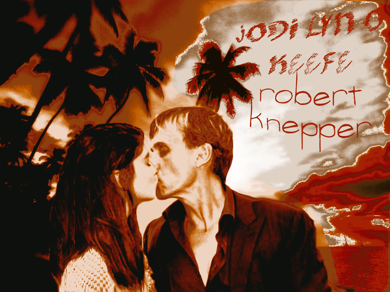 Robert Knepper/Jodi Lyn O'Keefe wallpaper