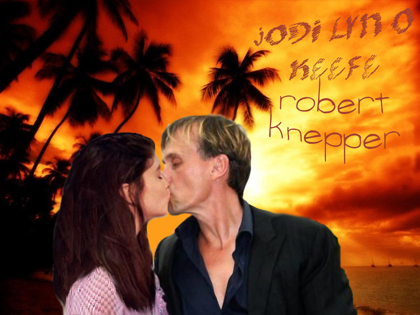Robert Knepperjodi Lyn Okeefe Wallpaper Prison Break
