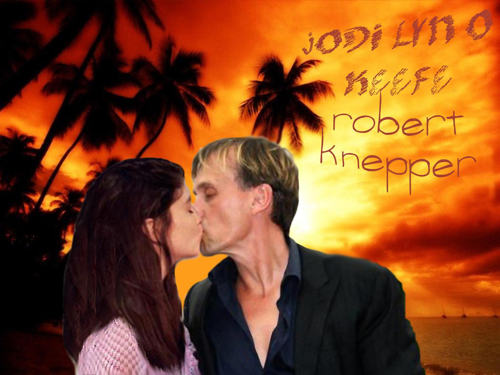 Robert Knepper/Jodi Lyn O'Keefe वॉलपेपर