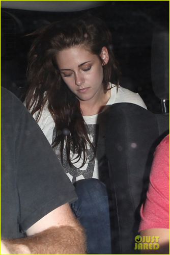 Robert&Kristen - Spending the evening at The Hotel Cafe - July 19, 2012