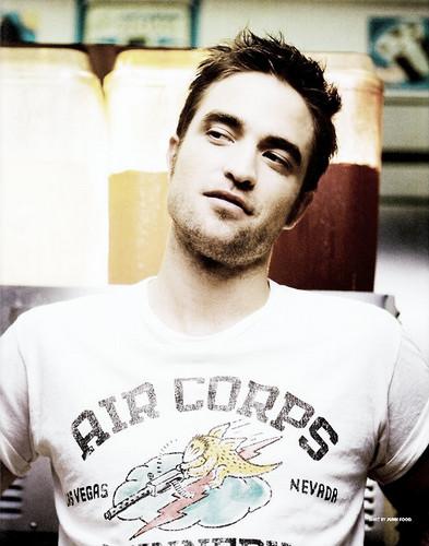 Robert Pattinson in Blackbook Magazine