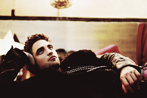 Robert Pattinson in Blackbook Magazine