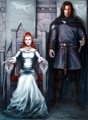 Sansa Stark & Sandor Clegane - sandor-and-sansa fan art