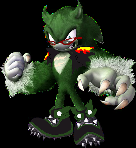 Scrouge The Werehog