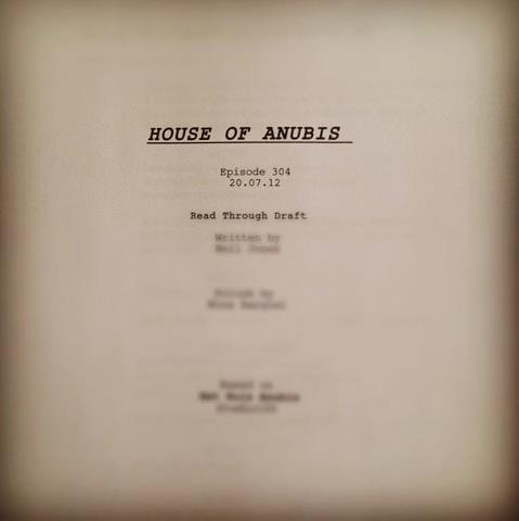 The House of Anubis wallpaper titled Season 3 Script--SNEAK PEEK