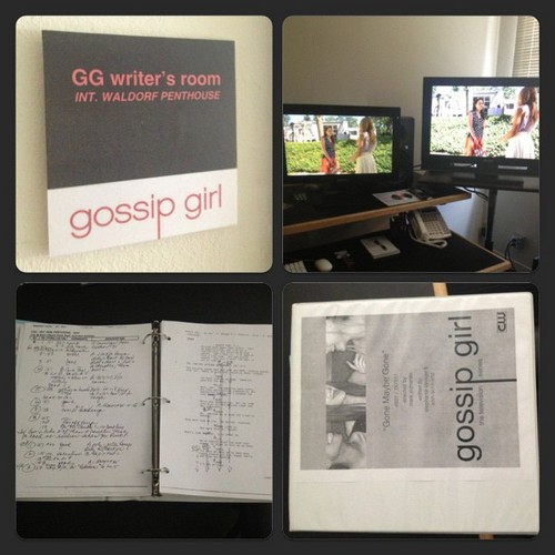 Gossip Girl wallpaper possibly with a sign entitled Season 6 Pics/Unseen episode