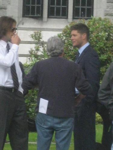 Season 8 Premiere at the University of British Columbia - supernatural Photo