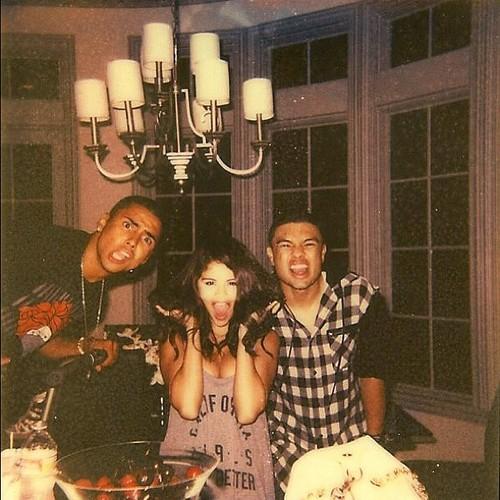 Selena Gomez, Alfredo Flores & Quincy