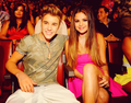 Selena & Justin at TCAS 2012 - justin-bieber-and-selena-gomez photo