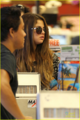 Selena - Leaves Velvet Hands Nail Salon & Day Spa in Encino - July 24, 2012 - selena-gomez photo