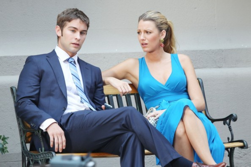 Serena&Nate - Behind the Scenes - July 12, 2012