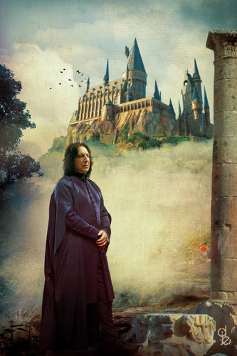 Severus Snape wallpaper probably with a cloak and a street called Severus Snape