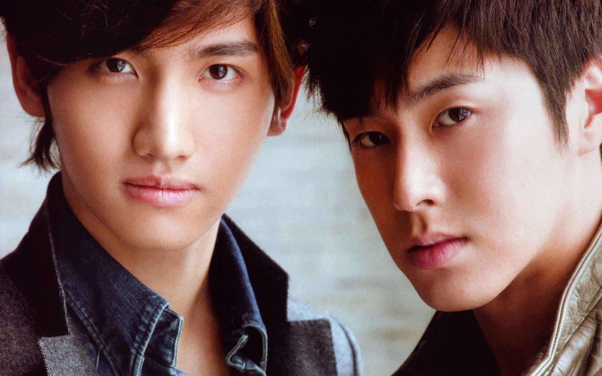 Shim And Jung Tvxq Homin Jung Yunho Shim Changmin